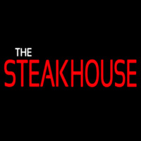The Steakhouse Neon Sign