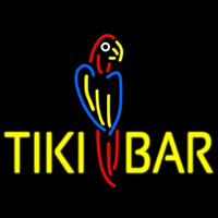 Tiki Bar Parrot Neon Sign