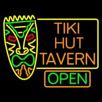 Tiki Hut Tavern Bar Neon Sign