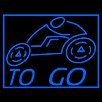 To Go Delivery Take Out Pizza Motor Neon Sign