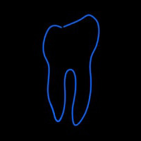 Tooth Logo Neon Sign