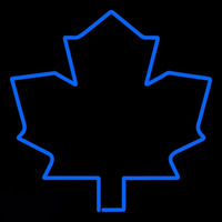 Toronto Maple Leafs Alternate 1982 83 1991 92 Logo NHL Neon Sign Neon Sign