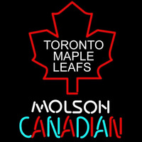 Toronto Maple Leafs Logo Molson Canadian Neon Sign Neon Sign