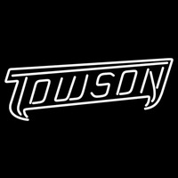Towson Tigers Wordmark 2004 Pres Logo NCAA Neon Sign Neon Sign