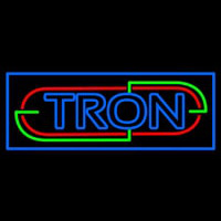 Tron Neon Sign