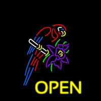 Tropical Parrot Neon Sign