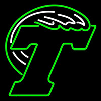 Tulane Green Primary 1998 Pres Logo NCAA Neon Sign Neon Sign