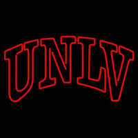 Unlv Rebels Wordmark 2006 Pres Logo Ncaa Neon Sign Neon Sign