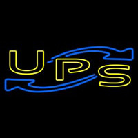 Ups Double Stroke Neon Sign