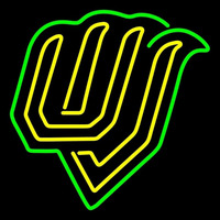 Utah Valley Wolverines Alternate 2008 Pres Logo Ncaa Neon Sign Neon Sign
