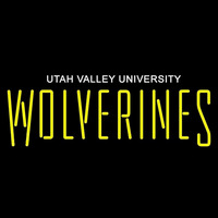 Utah Valley Wolverines Wordmark 2008 Pres Logo Ncaa Neon Sign Neon Sign