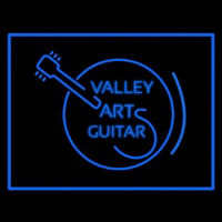 Valley Arts Guitars Logo Neon Sign