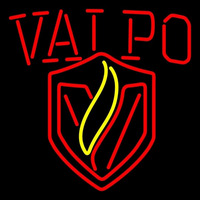 Valparaiso Crusaders Alternate 2011 Pres Logo Ncaa Neon Sign Neon Sign