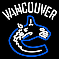 Vancouver Canucks Alternate 2007 08 Pres Logo NHL Neon Sign Neon Sign