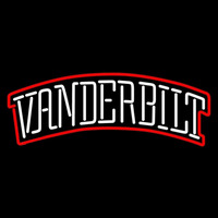 Vanderbilt Commodores Wordmark 1999 Pres Logo Ncaa Neon Sign Neon Sign