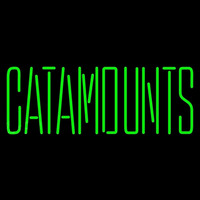 Vermont Catamounts Wordmark 1998 Pres Logo Ncaa Neon Sign Neon Sign