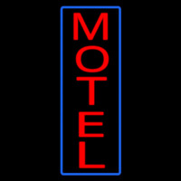 Vertical Motel Neon Sign