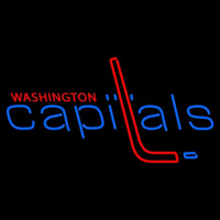 Washington Capitals Primary 1974 75 1994 95 Logo NHL Neon Sign Neon Sign