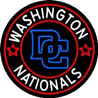 Washington Nationals Alternate 2005 Logo MLB Neon Sign Neon Sign