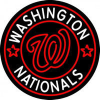 Washington Nationals MLB Logo Neon Sign Neon Sign