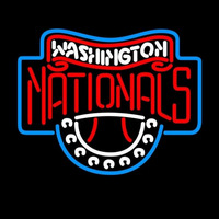 Washington Nationals MLB Neon Sign Neon Sign