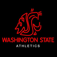 Washington State Cougars Alternate 2011 Pres Logo Ncaa Neon Sign Neon Sign