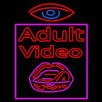 Watch Adult Video Neon Sign