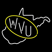 West Virginia Mountaineers Primary 1970 1979 Logo Ncaa Neon Sign Neon Sign