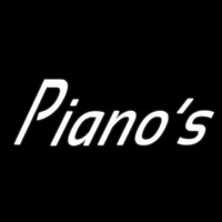 White Pianos Cursive 1 Neon Sign