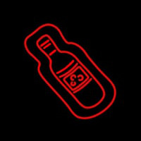 Wine Bottle Neon Sign