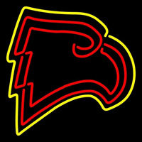 Winthrop Eagles Primary 1995 Pres Logo Ncaa Neon Sign Neon Sign