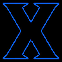 Xavier Musketeers Primary 1995 Pres Logo Ncaa Neon Sign Neon Sign