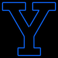Yale Bulldogs Alternate 0 Pres Logo Ncaa Neon Sign Neon Sign