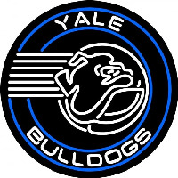 Yale Bulldogs Alternate 1998 Pres Logo Ncaa Neon Sign Neon Sign