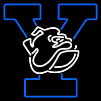 Yale Bulldogs Primary 1998 Pres Logo Ncaa Neon Sign Neon Sign
