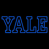 Yale Bulldogs Wordmark 0 Pres Logo Ncaa Neon Sign Neon Sign