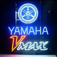 Yamaha V Max Neon Sign