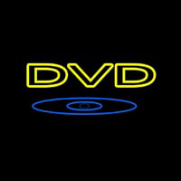Yellow Dvd 1 Neon Sign