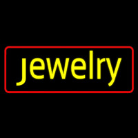 Yellow Jewelry Neon Sign