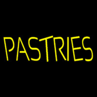 Yellow Pastries Neon Sign