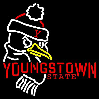 Youngstown State Penguins Primary 1989 Pres Logo Ncaa Neon Sign Neon Sign