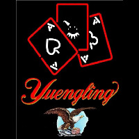 Yuengling Ace And Poker Beer Sign Neon Sign