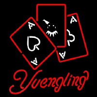 Yuengling Ace And Poker Neon Sign