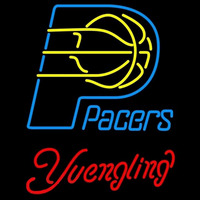Yuengling Indiana Pacers NBA Beer Sign Neon Sign