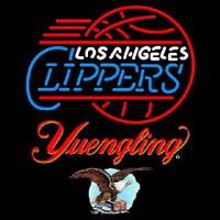 Yuengling Los Angeles Clippers NBA Beer Sign Neon Sign