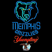 Yuengling Memphis Grizzlies NBA Beer Sign Neon Sign