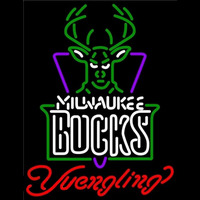 Yuengling Milwaukee Bucks NBA Beer Sign Neon Sign