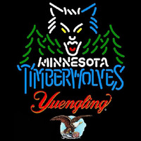 Yuengling Minnesota Timberwolves NBA Beer Sign Neon Sign