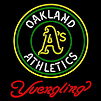Yuengling Oakland Athletics MLB Beer Sign Neon Sign