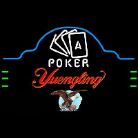 Yuengling Poker Ace Cards Beer Sign Neon Sign